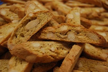 Types Biscuits secs, croquants aux amandes