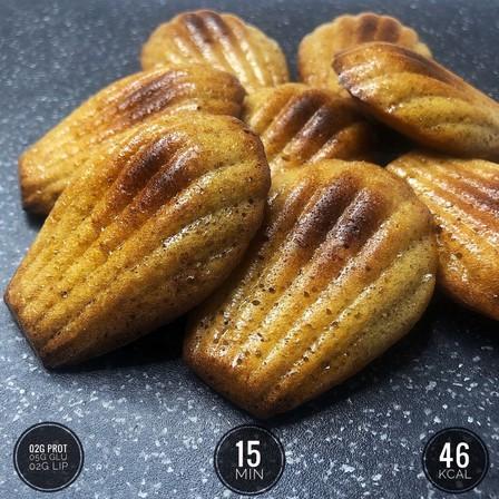 madeleines-healthy-à-l'amande