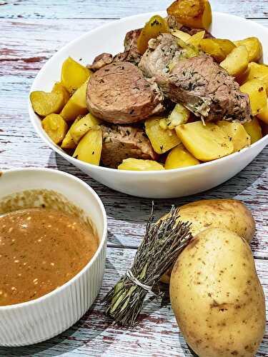 Filet Mignon Boursin Cookeo : filet, mignon, boursin, cookeo, Filet, Mignon, Sauce, Pommes, Terre,