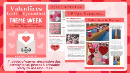 Preschool Gymnastics Valentines Theme Guide - Rec Gym Pros