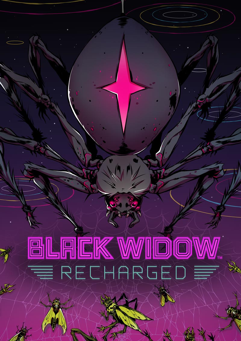 Black Widow Recharged - Poster