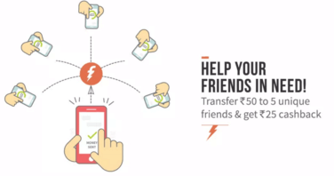 freecharge share and earn offer