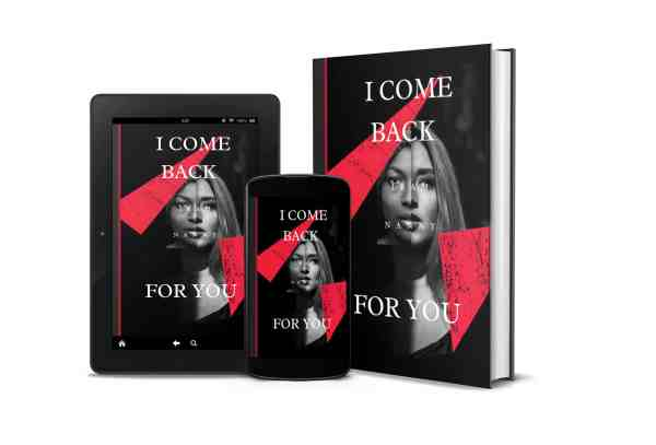 I come back mockup 3D de l'eBook by MariAnna Warr
