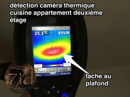 camera thermique etage - Laverune