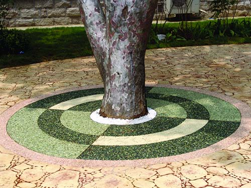 Silicone Sandstone Tree Girdle
