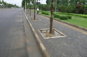 Sand Permeable Guide Brick