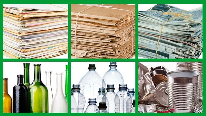 que materiales se pueden reciclar