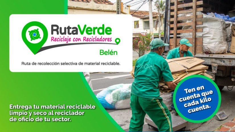 Belén cuenta con su ruta de recolección selectiva de reciclaje