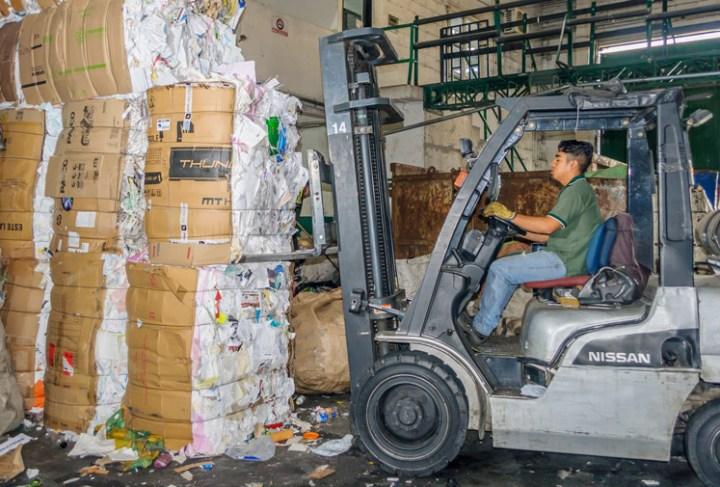 comercialización de materiales Reciclables