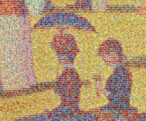 Imagens Extranhas formam a Arte do Lixo. (4/6)