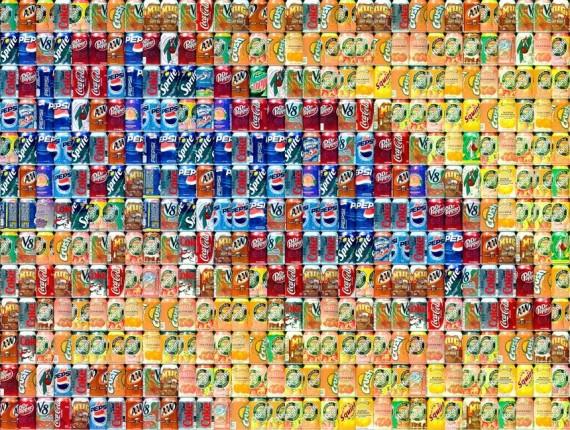 Imagens Extranhas formam a Arte do Lixo. (5/6)