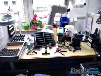 Poste de production électrique / électronique.