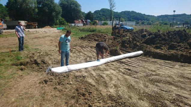 Reciklažno dvorište Krapinske Toplice - izgradnja 5