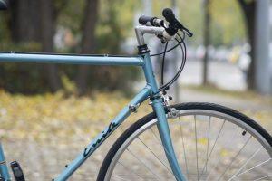 Acél városi kerékpár