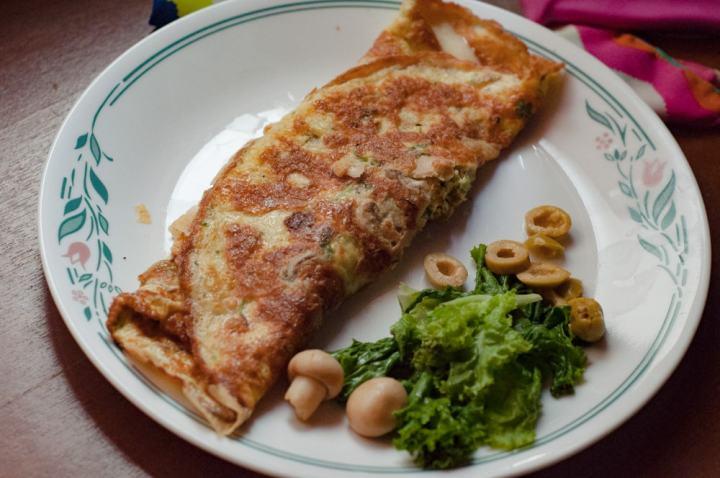Keto Mushroom Omelette Recipe