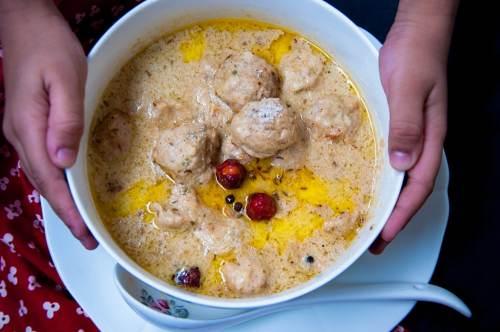chicken kofta gravy recipe