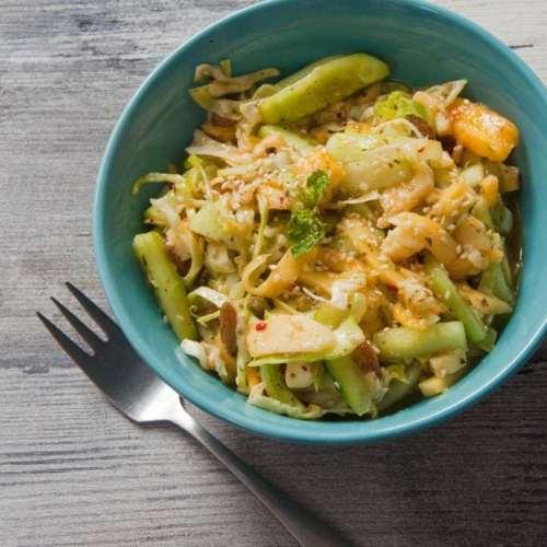 Mango Cucumber Salad