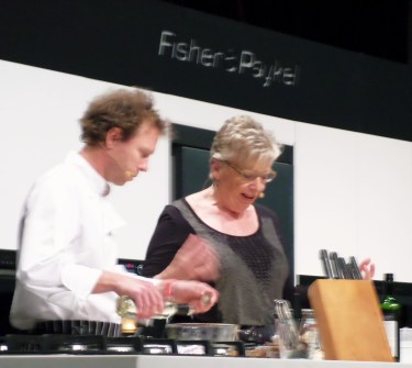 Maggie Beer on stage