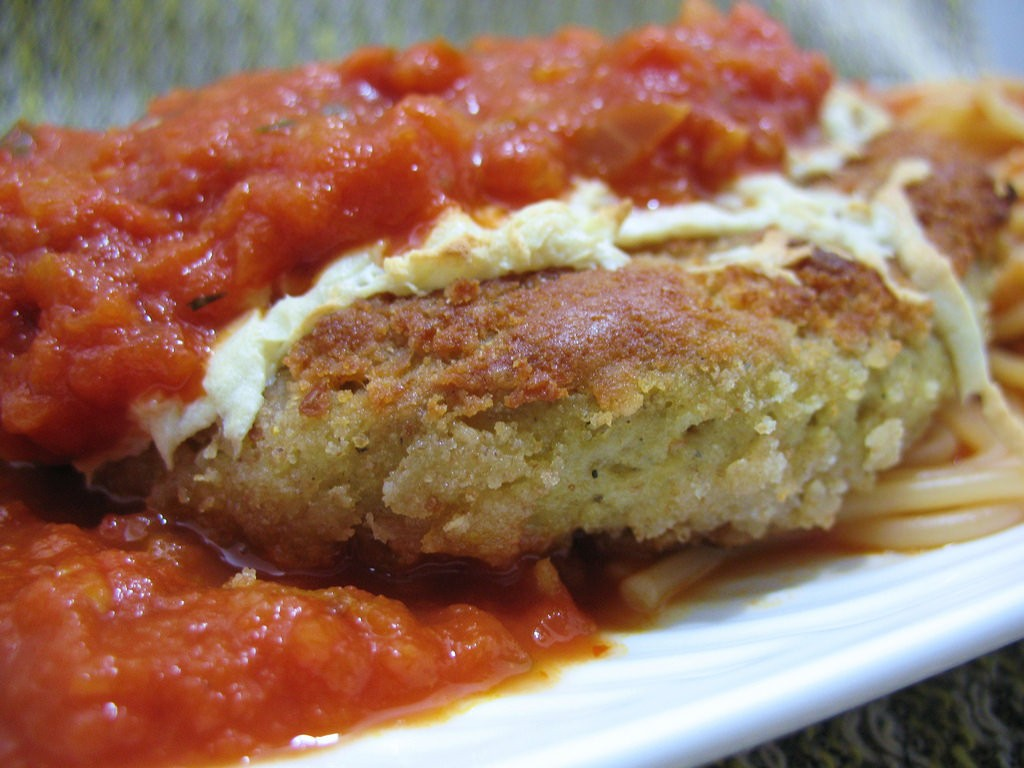 Italian Chicken Cutlets, photo by matt, Flickr commons