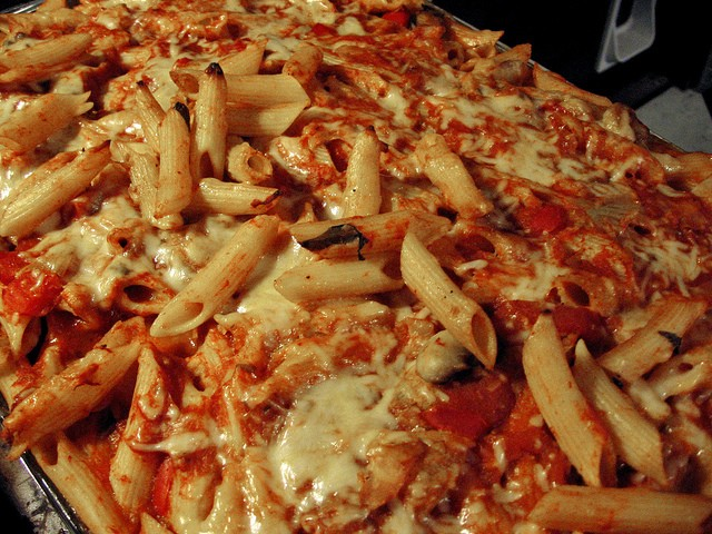 Chicken Baked Ziti, Photo by Anne G, Flickr commons