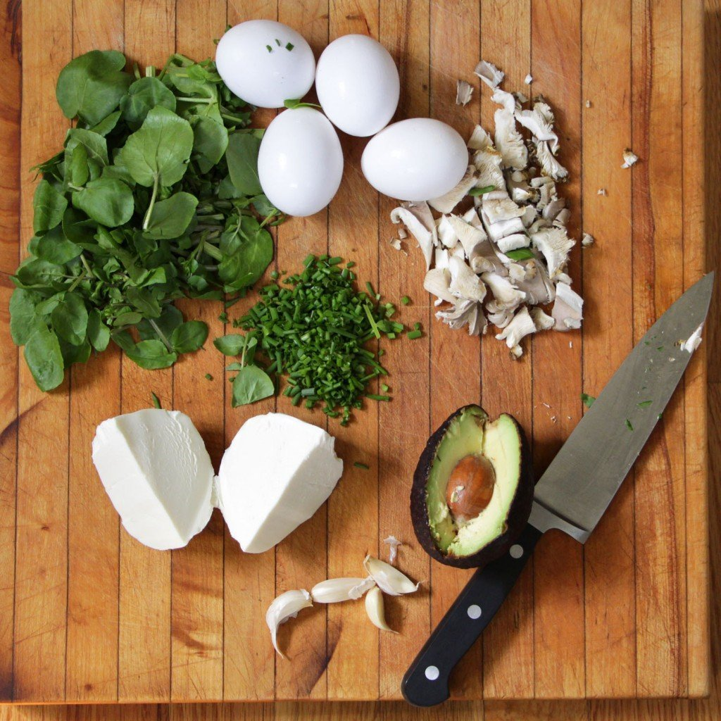 ingredients for green eggs no ham