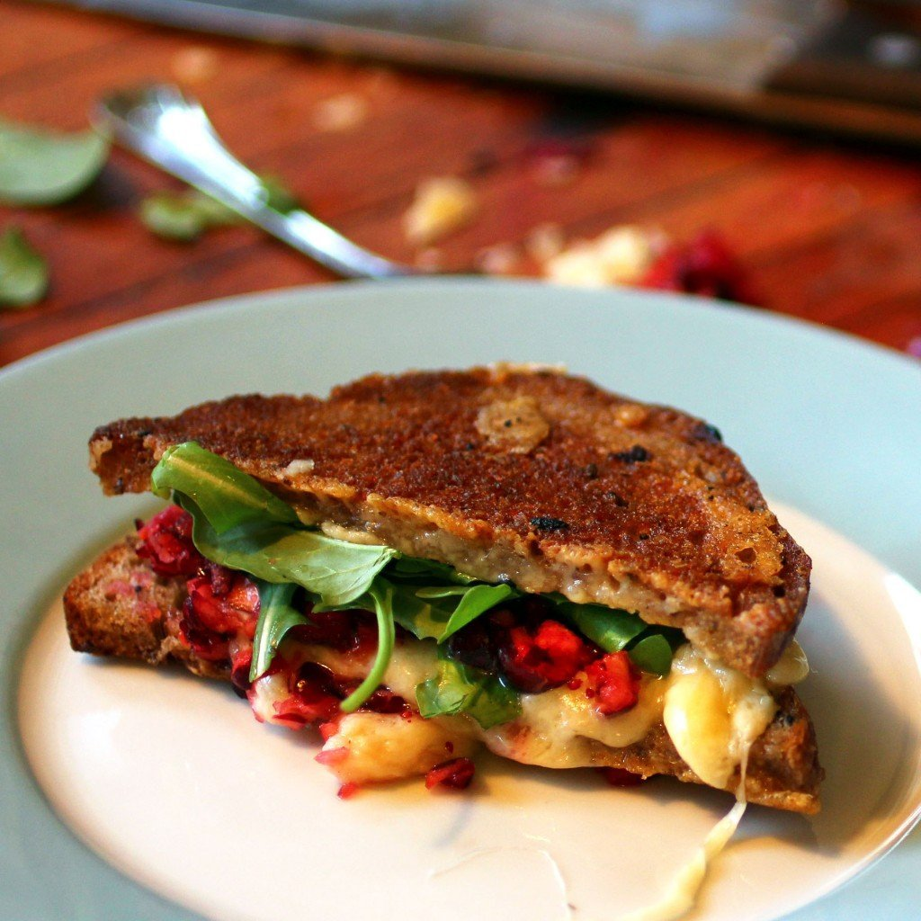 cranberry grilled cheese