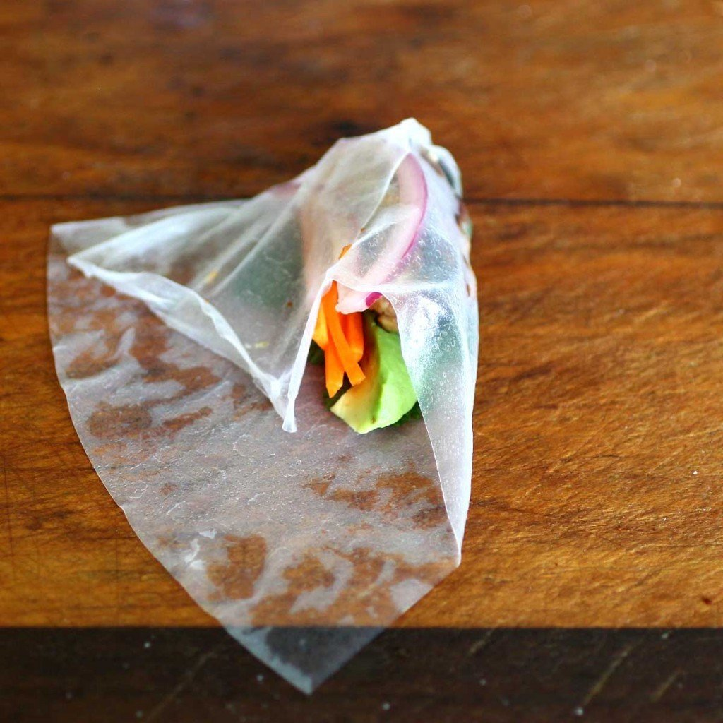 Lemongrass Shiitake Mushroom Ground Pork wrap2