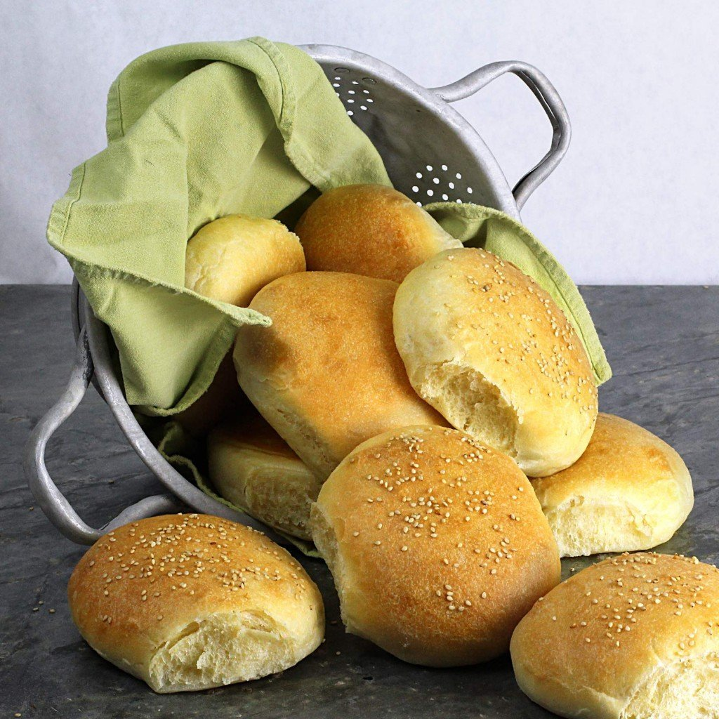 soft and tender hamburger buns