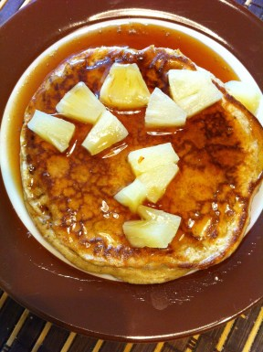 Basic wholegrain pancakes (buttermilk)