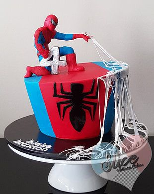 10 Awesome Spiderman Cake Ideas With Recipe Amp Topper