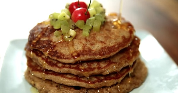 eggless oatmeal pancake