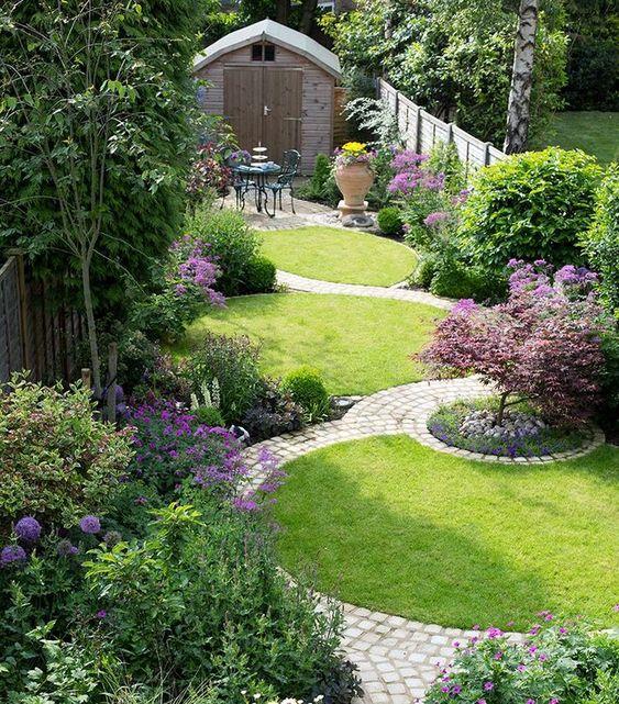 Colorful Backyard Garden 1