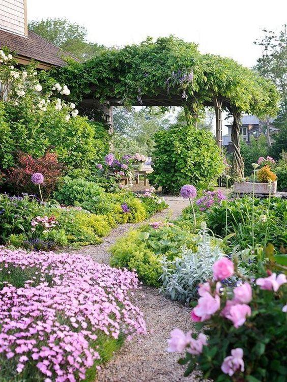 Colorful Backyard Garden 10