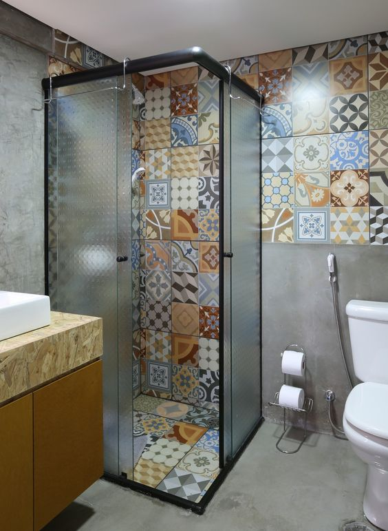 eclectic bathroom ideas 5