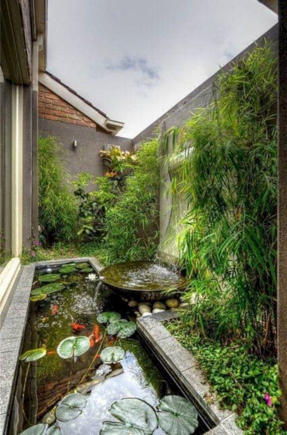 koi pond landscaping 11