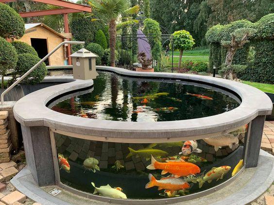 koi pond landscaping 13