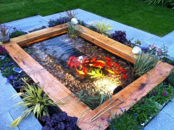 koi pond landscaping 15