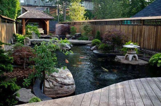 koi pond landscaping 4