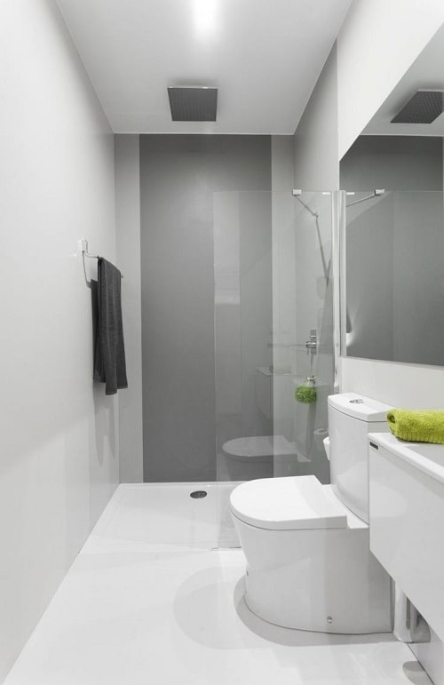 long narrow bathroom 14