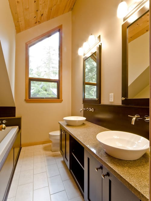 long narrow bathroom 17