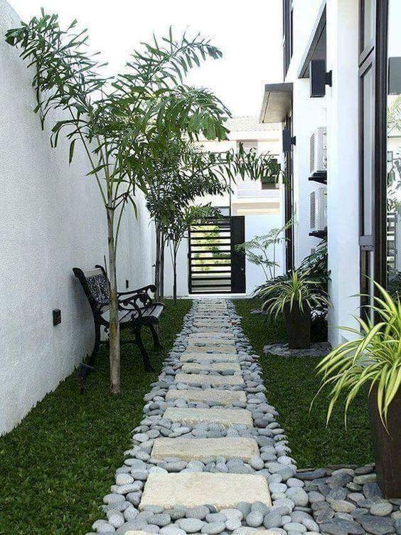 minimalist backyard garden 2