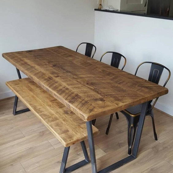 pallet dining table 10