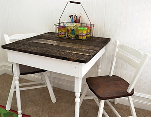 pallet dining table 12