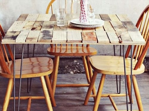 pallet dining table 18