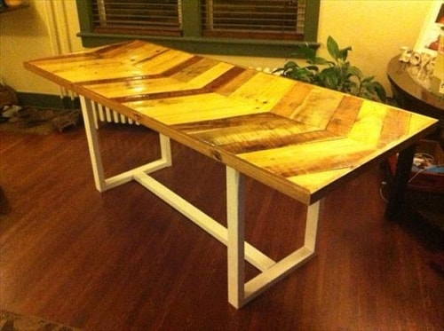 pallet dining table 7