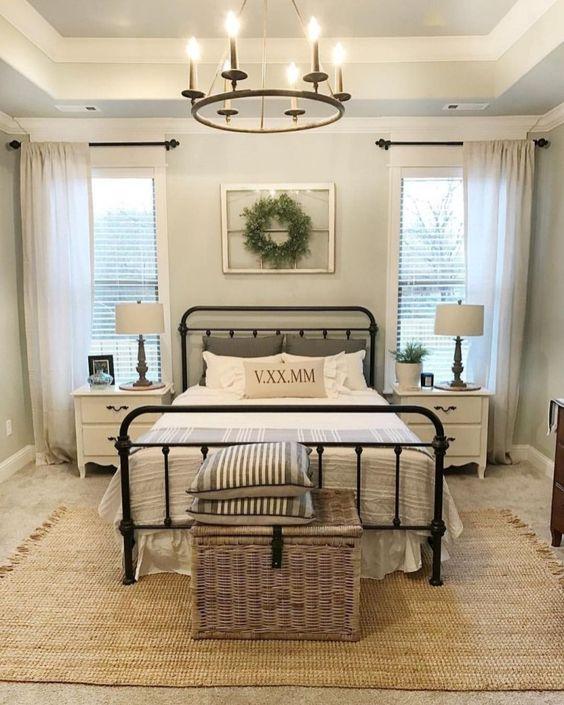 rustic bedroom 1