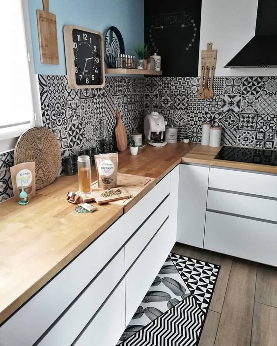 Kitchen Countertop on a Budget 16