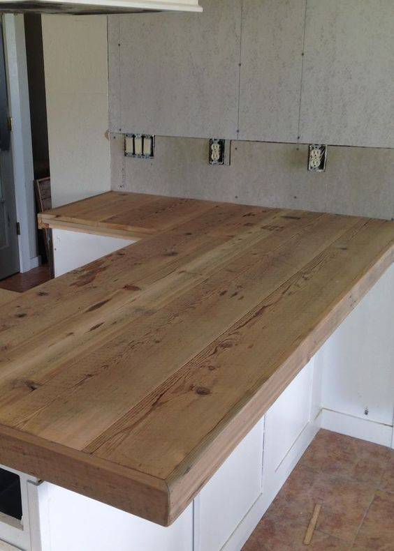 Kitchen Countertop on a Budget 4