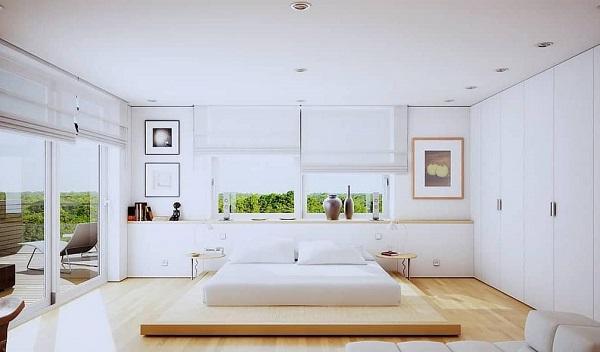 Minimalist Bedroom Design feature
