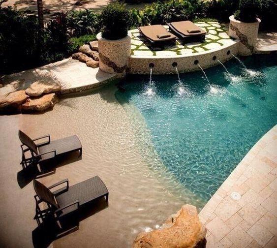 beach entry pool 1